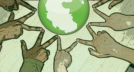 pangea globe peace community circle