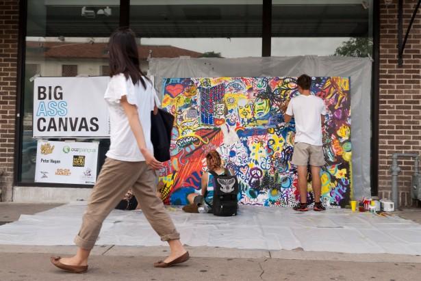 street art viewers artists collaboration