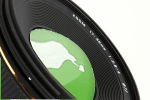 camera lens globe business photo