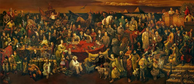 historical figures 100 painting