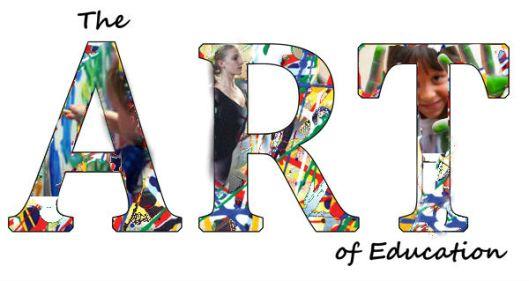 art education collage title