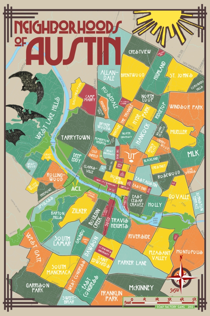 Austin Neighborhood Map